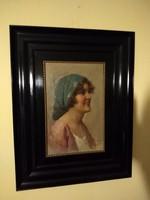 Eduardo FORLENZA (1861-1934): Olasz nő