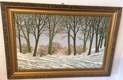 Turcsán Miklós / 1944-/: Tél
