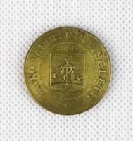 0T811 Az ezredév emlékére 1896 Makó réz emlékérme
