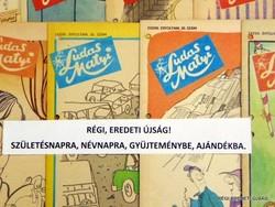 1977 április 21  /  Ludas Matyi  /  SZÜLETÉSNAPRA RÉGI EREDETI ÚJSÁG Szs.:  6666