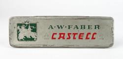 0T784 Régi A.W. FABER CASTELL pléh doboz