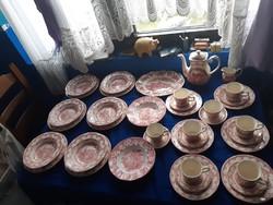 40 db Angol porcelán