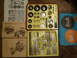 Dupla fémépítő játék,karácsonyi ajándéknak is