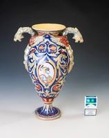 SCU Lüsztermázas kerámia váza