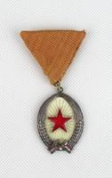 0T843 Régi szocreál kitüntetés szocialista jelvény