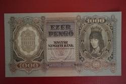 1943 1000 pengő.UNC
