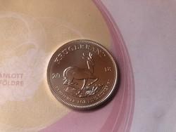 2018 Krugerrand ezüst 31,1 gramm 0,999