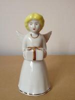 Aquincum ajándékos nagy angyalka csengettyű, Kézifestés