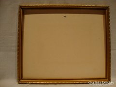 Arany - fa képkeret falc : 22x28,5 cm