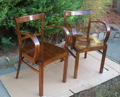 Gyönyörű Felújított Art Deco Karfás székek Párban!!!