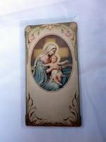 Antik Szűz Mária szentkép