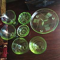 Cseh uránüveg gyűjtemény