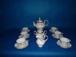FREIBERG  Németország  Barokk  6sz teás garnitúra