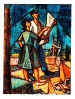 KMETTY JÁNOS (1889 - 1975) Férfi és nő