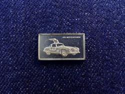 Mercedes-Benz 1954 autós ezüst lapka
