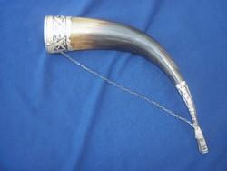 Ivó szaru ezüst verettel