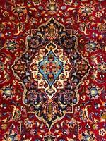 Kézicsomózású Keshan Perzsaszőnyeg 196x308cm