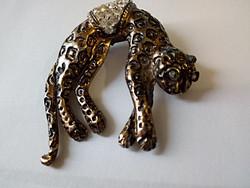 Mozgó leopárd bross 88.