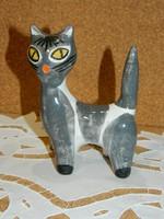 Kertész Klára kerámia cica.