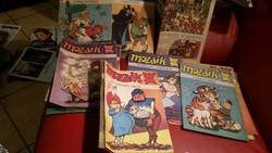 Retro képregény gyerekeknek  MOZAIK eladó! 1979-86 év