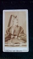 Ezüst csere...徳川 昭武  Princ de Japan, Akitake Tokugawa, CDV, Disderi, Paris