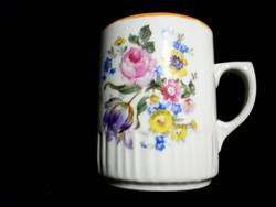 Zsolnay tavaszi virágcsokros csésze 27.