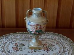 Amfóra, váza, asztaldísz, német porcelán, abszolúte hibátlan, kopásmentes