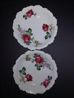 Rózsás porcelán tányérok - EP