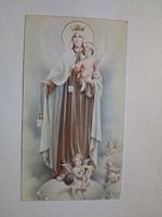 Szűz Mária régi szentkép