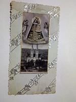 Szűz Mária antik dombornyomott kegyép, imalap