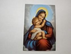 Szűz Mária régi imalap
