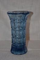 Kék üveg váza  ( DBZ 0016 )
