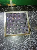 Igazi Antik Ametiszt puderes dobozka egyedi ezüst