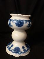Wallendorfi – Echt Kobalt porcelán gyertyatartó