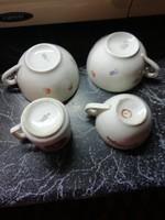 Eladásra  kínálok Ritka Zsolnay porcelán csészék