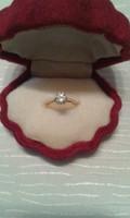 Antik 1.10 karátos gyémántgyűrű!