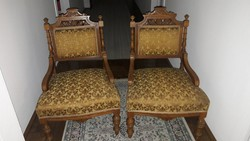 2 db ónémet szék, kiváló állapotban, tökéletes rugózat és kárpit!