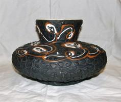 Retro kerámia váza Király jelzéssel