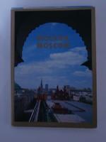 Moszkvai képeslapok 18 db
