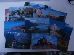 Pan American képeslapok 25 db