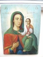 Orosz ikon / szentkép - 19. sz. vége