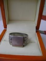 Szép antik ezüst pecsétgyűrű