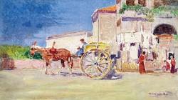 Herrer Cézár (1868-1919): Olasz jelenet