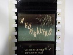 Diafilm : Hókirálynő  1963 Magyar Diafilmgyártó vállalat