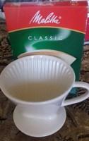 Mellitta, angol tea szuro filterrel