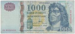 1000 Forint 2007 DA - VF