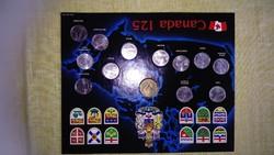 Canada 125 Éremgyűjtemény