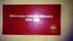 Milleneum 1999-2000 Canada Forgalmi sor