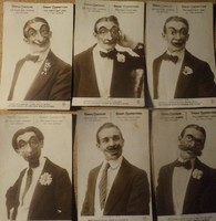 Albumból kiemelt régi képeslapok.