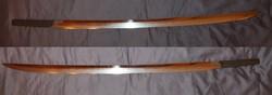 Gendai japán shobu zukuri katana penge szamurájkard wakizashi tanto